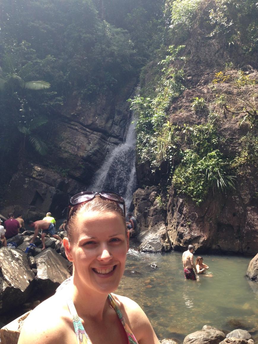 Peachtree Roadies waterfall