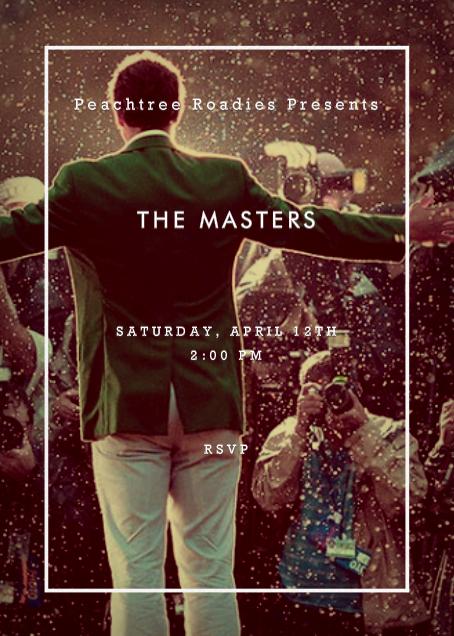 Peachtree Roadies The Masters