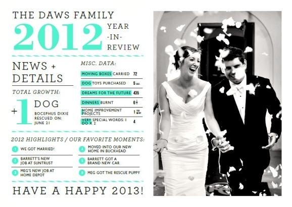 Daws Card