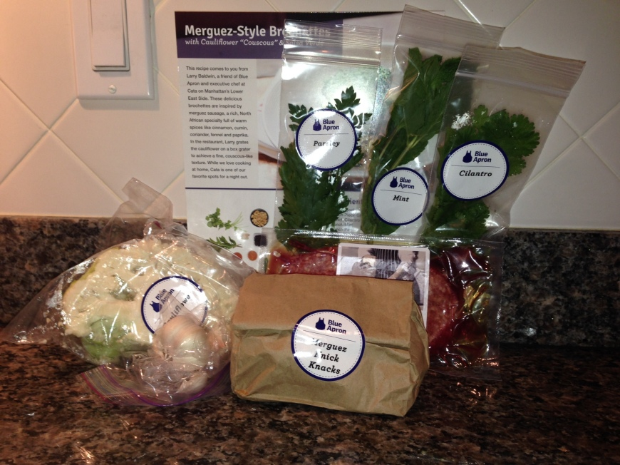 Peachtree Roadies Blue Apron Ingredients