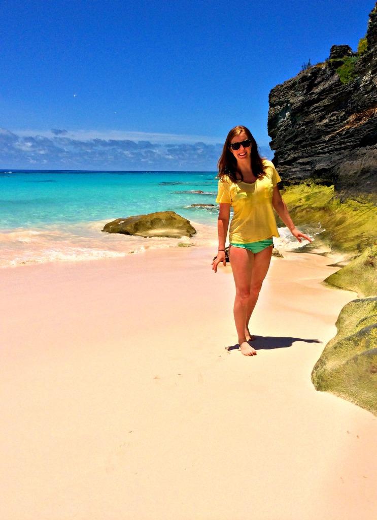 Bermuda - Walk on Beach