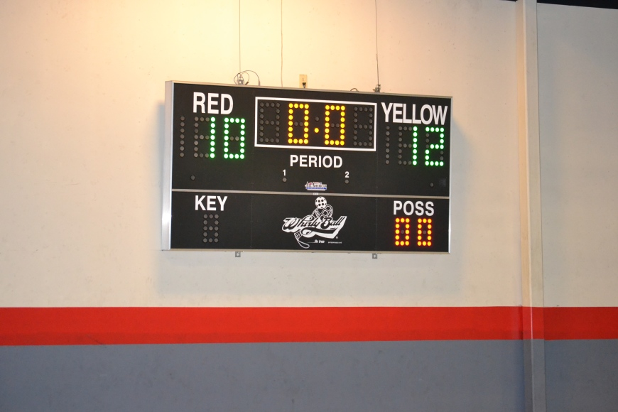 Whirly ball scoreboard