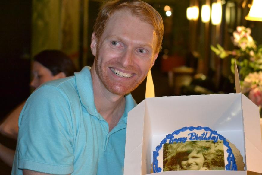 Gary's birthday cake