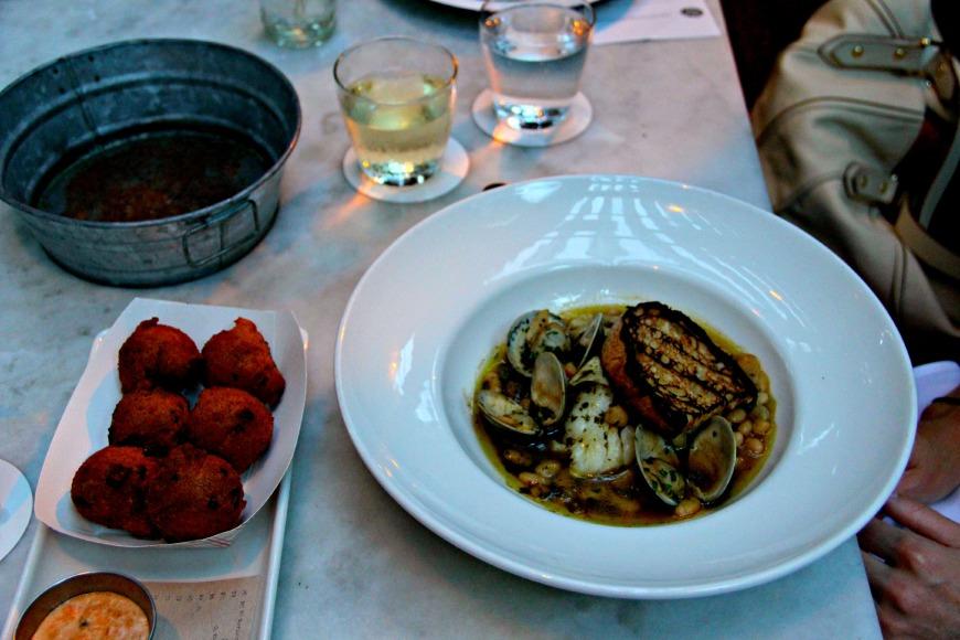 Lure Atlanta Seafood Dish