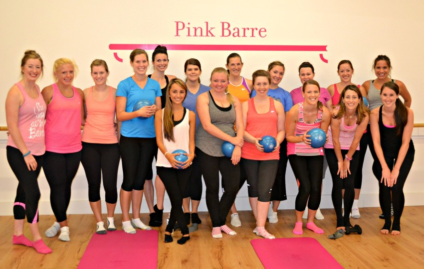 Pink Barre Group Photo