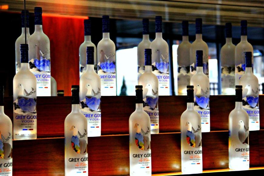 W Atlanta Grey Goose Bottles