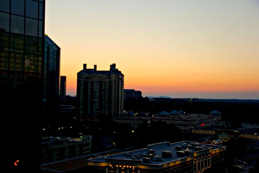 W Atlanta Skyline