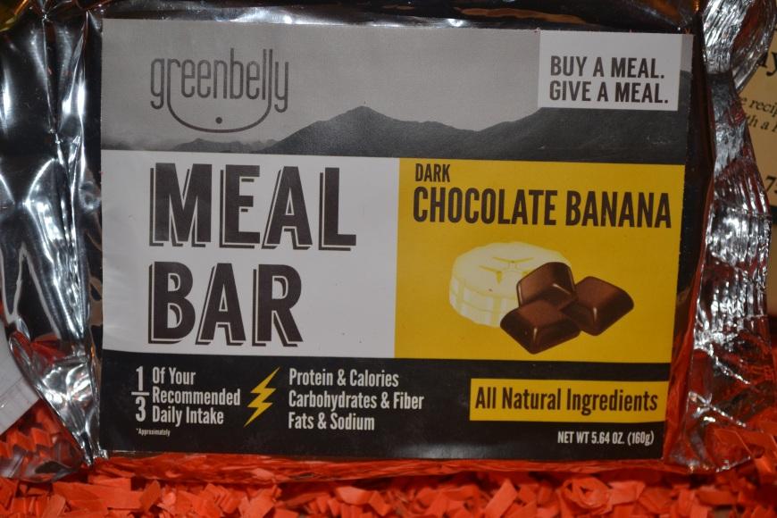 Dark Chocolate Banana Meal Bar