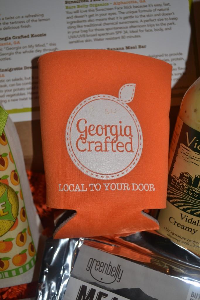 Georgia Crafted/Georgia On My Mind Koozie
