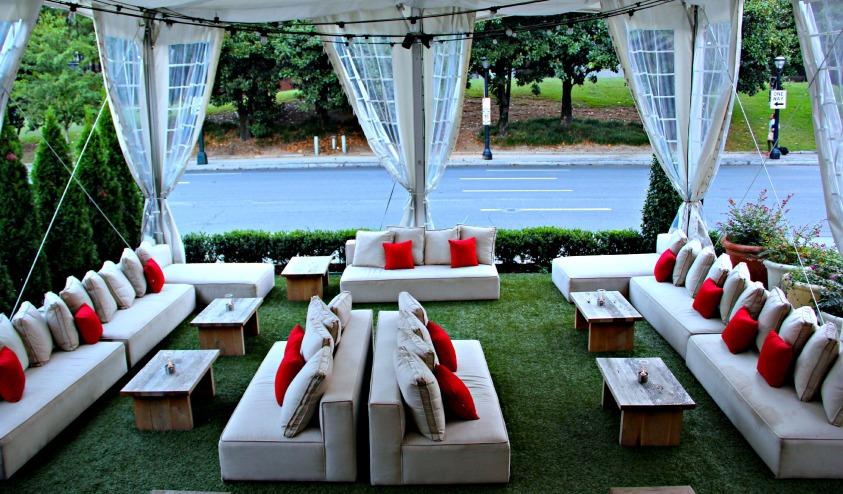 Artmore Hotel Cocktail Garden