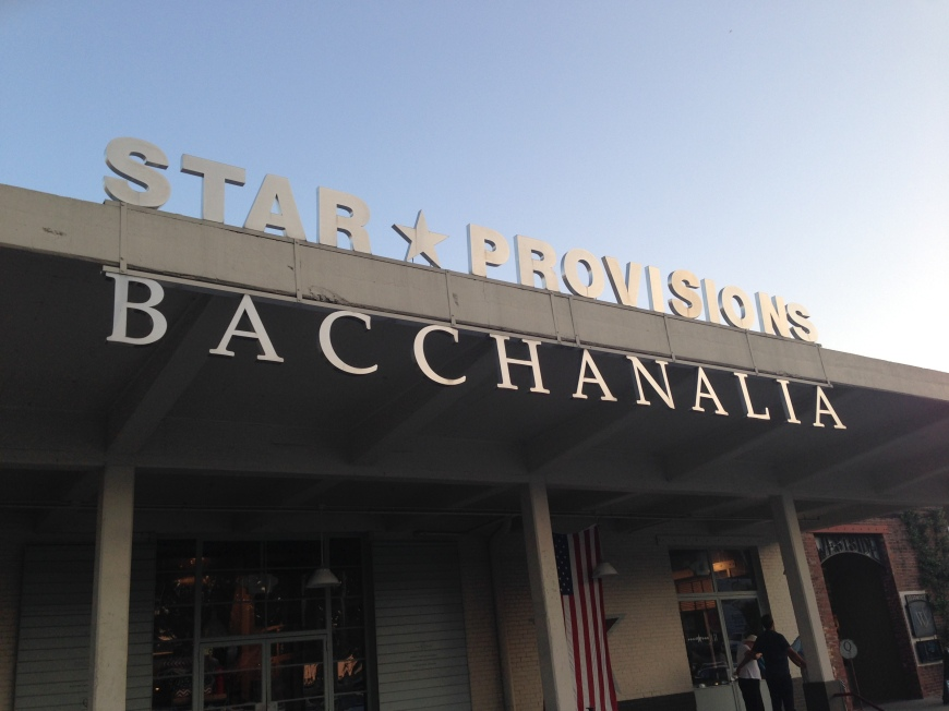 bacchanalia sign