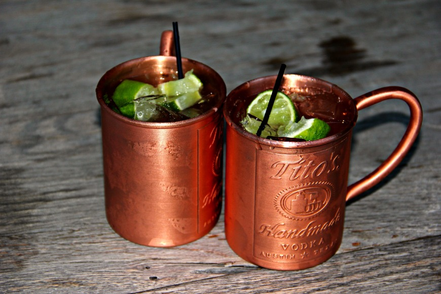 Titos Moscow Mules