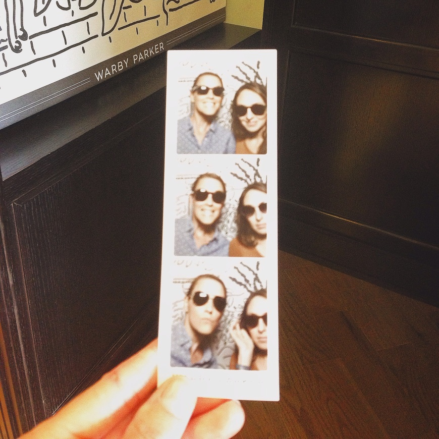 warby parker photo booth