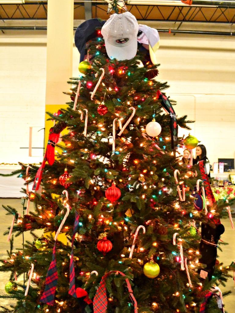 cc prep christmas tree