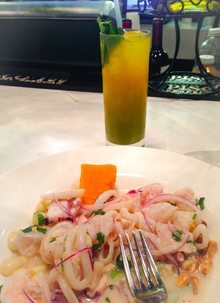 mojito and ceviche miami