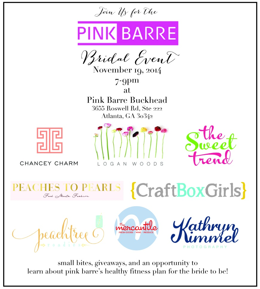 Pink Bridal Barre Event-01