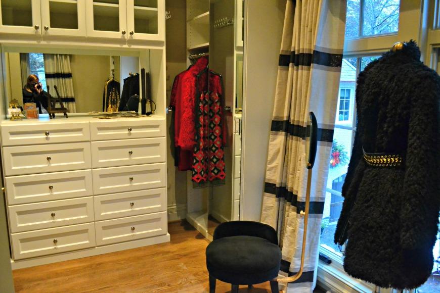 women's closet
