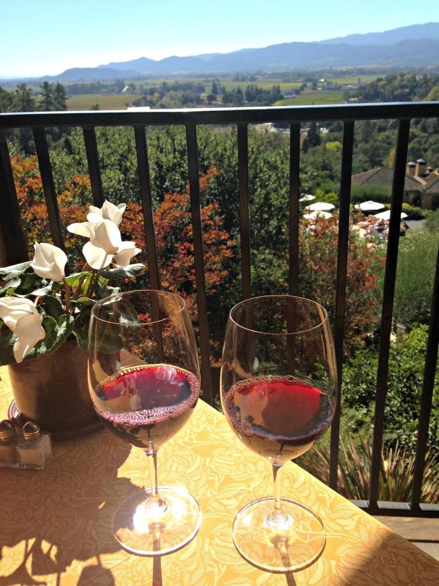 auberge du soleil wine