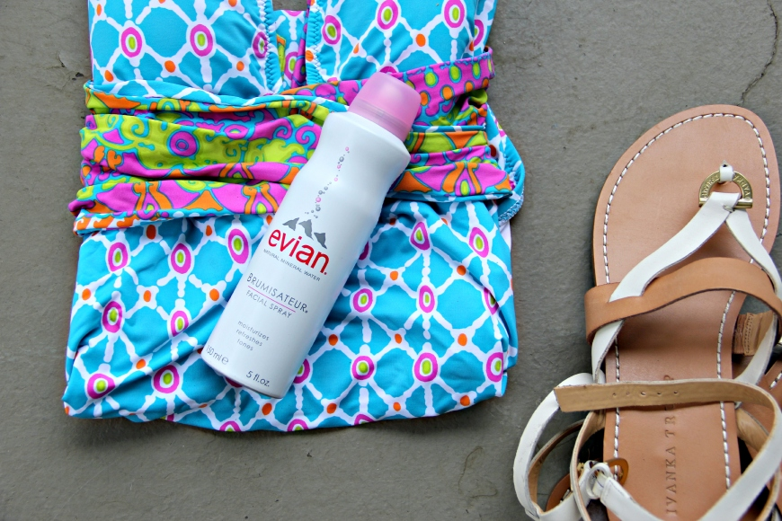 evian Facial Spray Beach