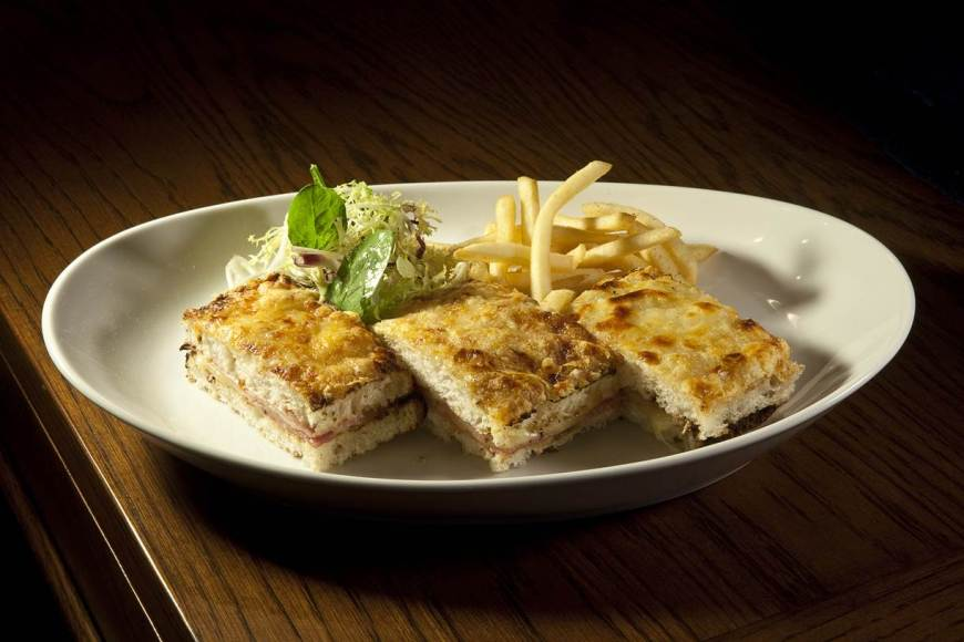 Le Croque Monsieur - Photo Credit Le Bilboquet