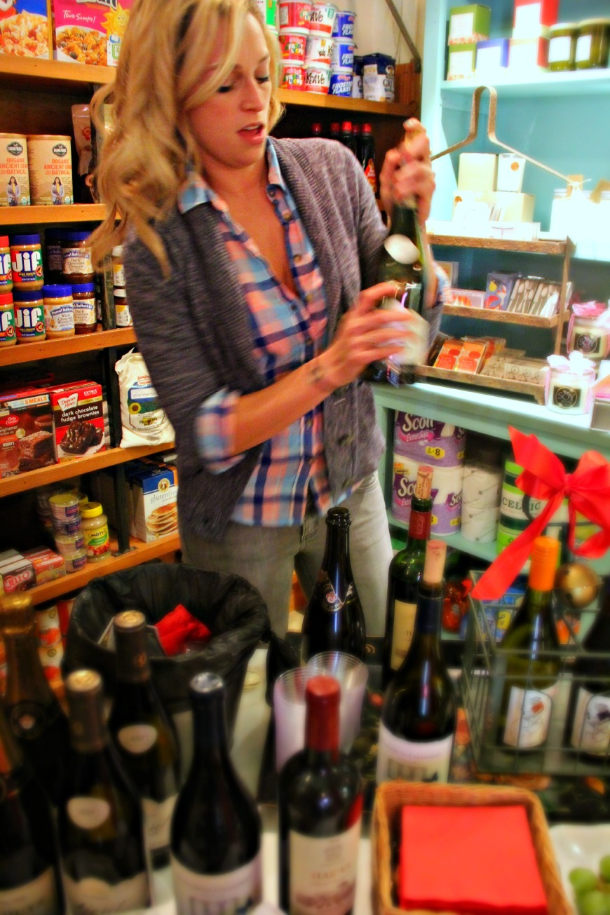Market Wine Tasting