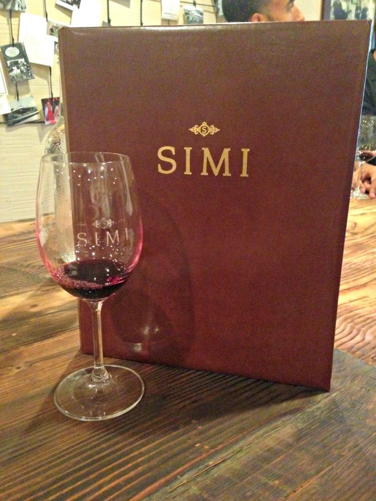 simi wine tasting
