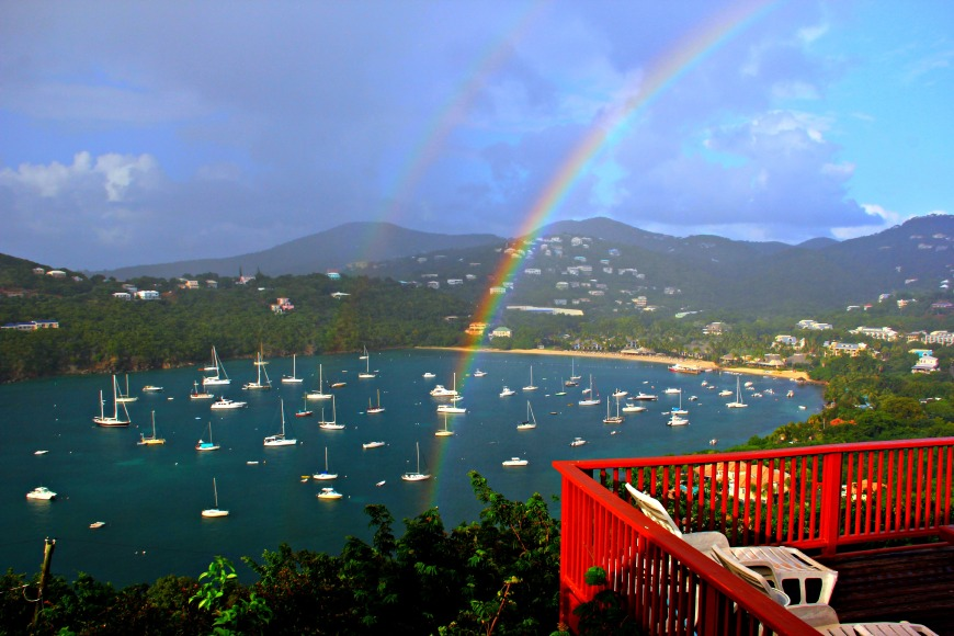 Rainbow in Carib